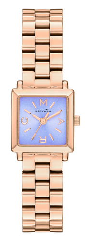 Marc by March Jacobs MBM3290 Rose Gold Tone Purple Dial Women's Watch