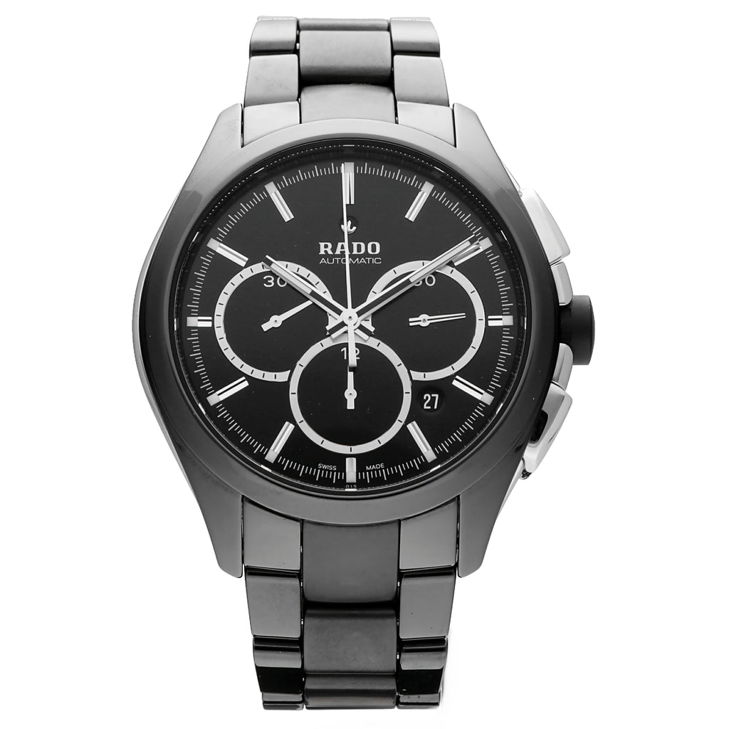 Rado Hyperchrome 650.0275.3 Chronograph Black Ceramic Automatic Wrist Watch
