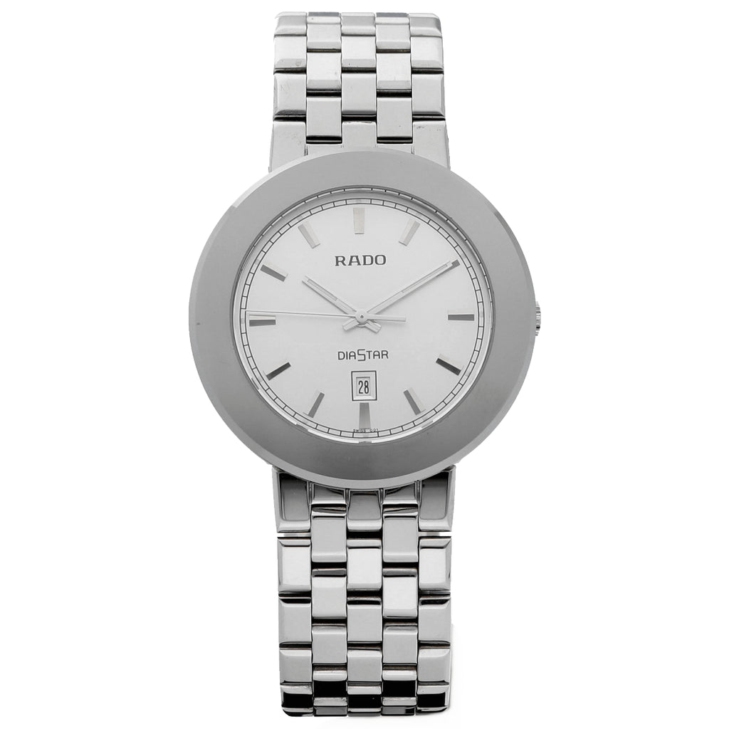 Rado Diastar R14341013 Stainless Steel 36mm Round Swiss Quartz Men's Watch - Sarasota Watch Company