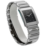 Rado Jubile R20484172 Steel Gray Ceramic Black Dial Rectangle Quartz Men's Watch Naples Florida - Sarasota Watch Company