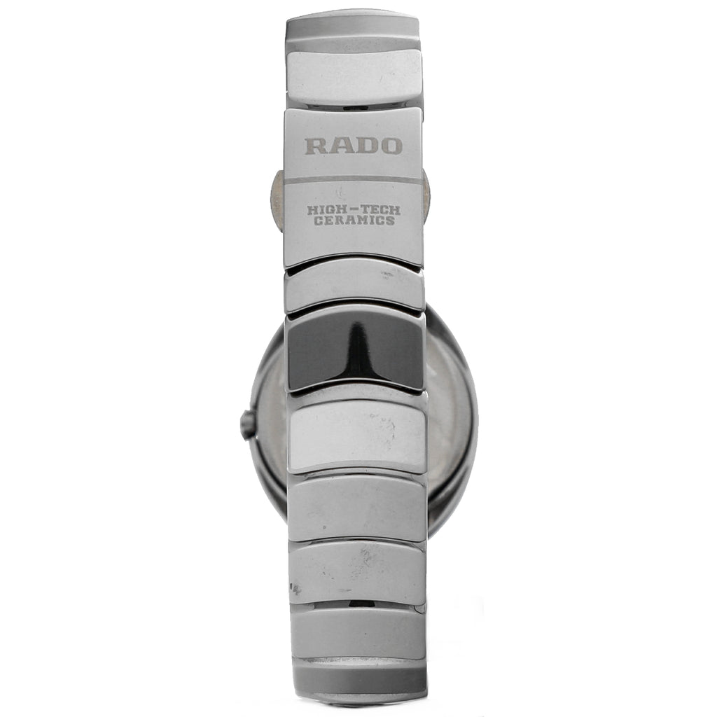 Rado Jubile 153.0495.3.071 Diamond Dial Ceramic Oval 25mm Quartz Women's Watch Sarasota watch company California San Fransisco