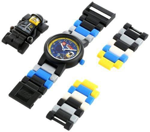 Lego 8020226 Bad Cop Mini Figurine Plastic Kid's Watch