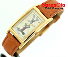 Bugs Bunny Limited Edition The Warner Bros.Gold Case Quartz Wrist Watch
