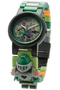 Lego Nexo Knights Aaron 8020523 w/Figurine Plastic Kid's Watch