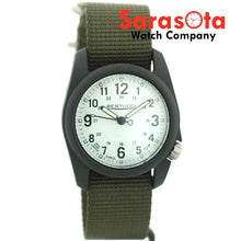Bertucci A-2R Poly-Resin Case 0117 Japan Quartz 40mm Military Canvas Men's Watch