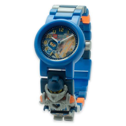 Lego Nexo Knights Clay 8020516 w/Figurine Plastic Kid's Watch