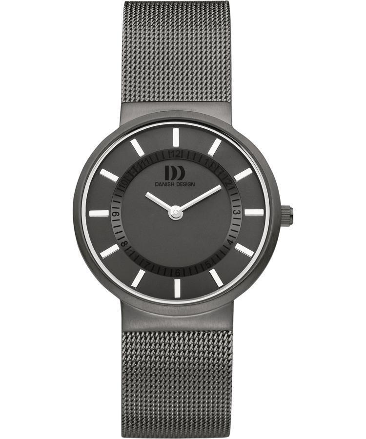 Danish Design IV64Q986 Gray Dial Stainless Steel Quartz Classic Women's Watch - Sarasota Watch Company