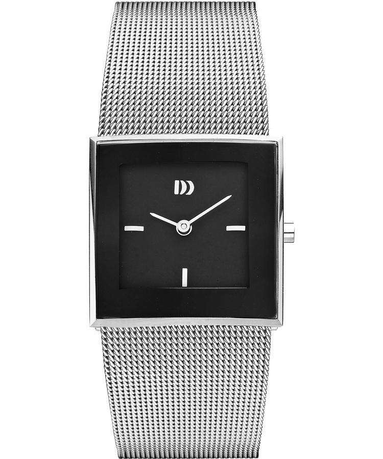 Danish Design IV63Q973 Black Dial Stainless Steel Quartz Classic Women's Watch - Sarasota Watch Company