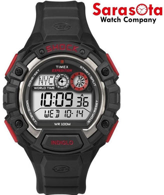 Timex Expedition T49973 Chronograph Black/Red Digital Sport Men's Watch