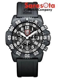 Luminox Navy Seal Colormark XS.3081 Chrono Black/White Quartz 200M Men's Watch