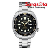 Seiko Prospex SRP775 Stainless Steel Black Dial 200M Diver Automatic Men's Watch - Sarasota Watch Company