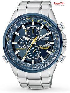 Citizen Eco Drive AT8020-54L Blue Angels World Chronograph A-T Men's Watch