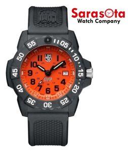 Luminox SCOTT CASSELL UVP XS.3509.SC.SET Orange Dial Special Edition Men's Watch