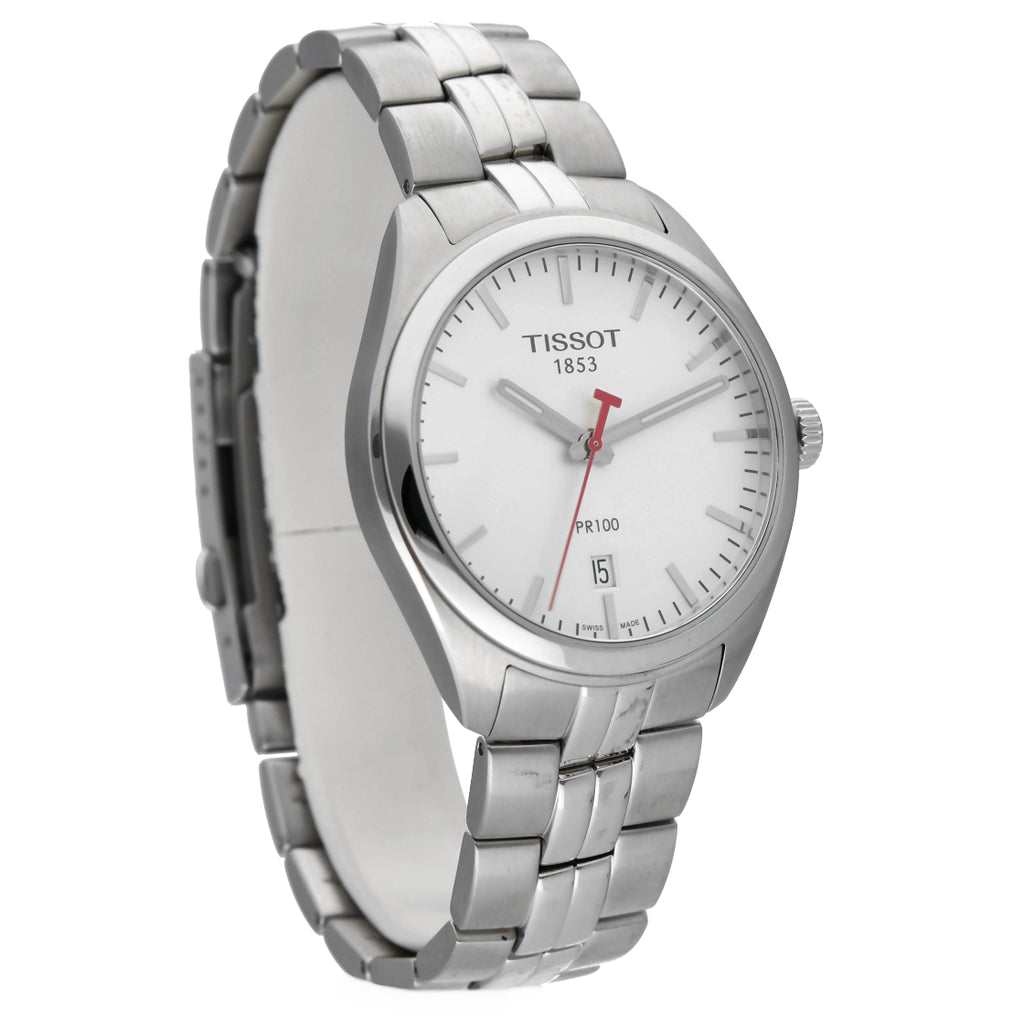 Tissot T101.410.11.03.101 PR100 NBA Special Edition Steel 39mm Quartz Mens Watch