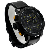 Welder Series K-31 1000D Black Rubber 50mm Black PVD Quartz Men's Watch