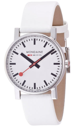 Mondaine A658.30300.11SBN Swiss Leather Strap Dress Men's Watch
