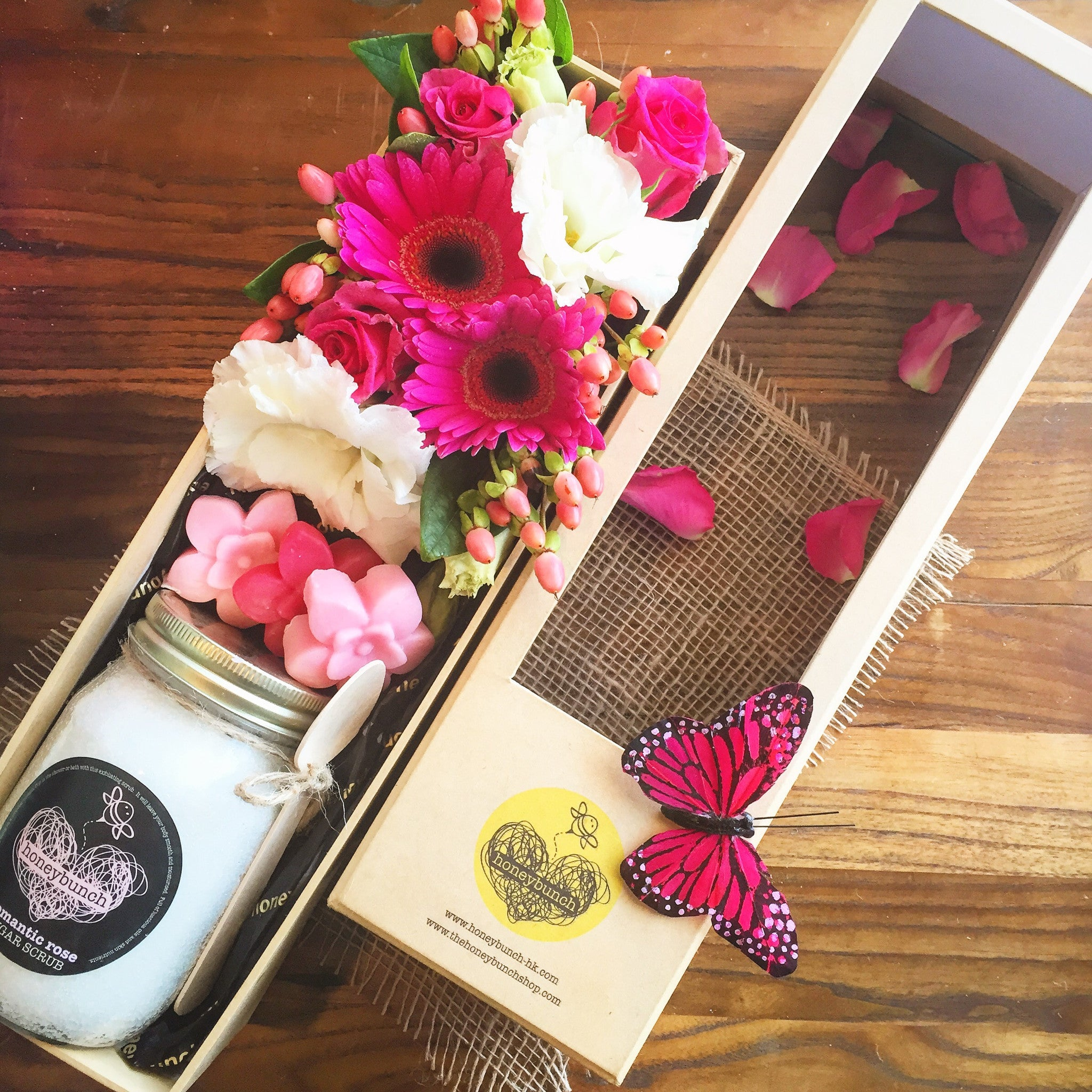 You scrub up well flower and pamper hamper