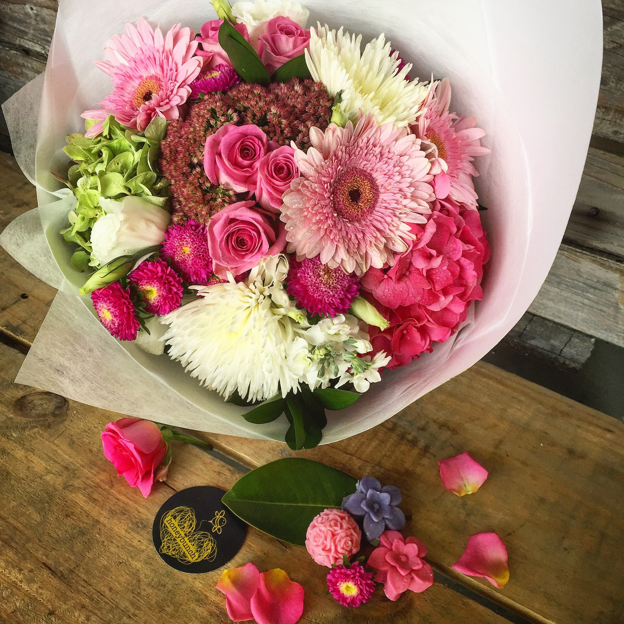 Picture perfect flower posy ......
