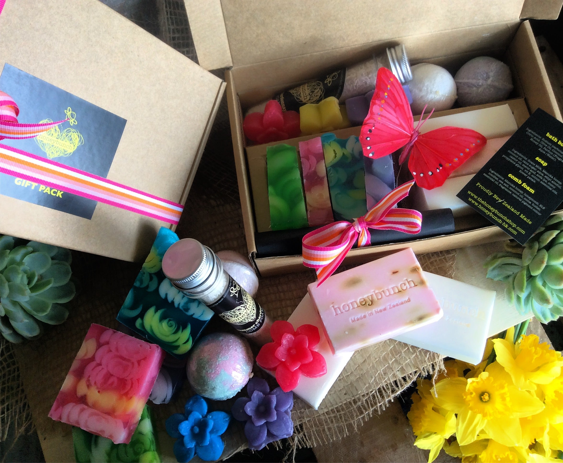 Wash off your stress naturally subscription treat box