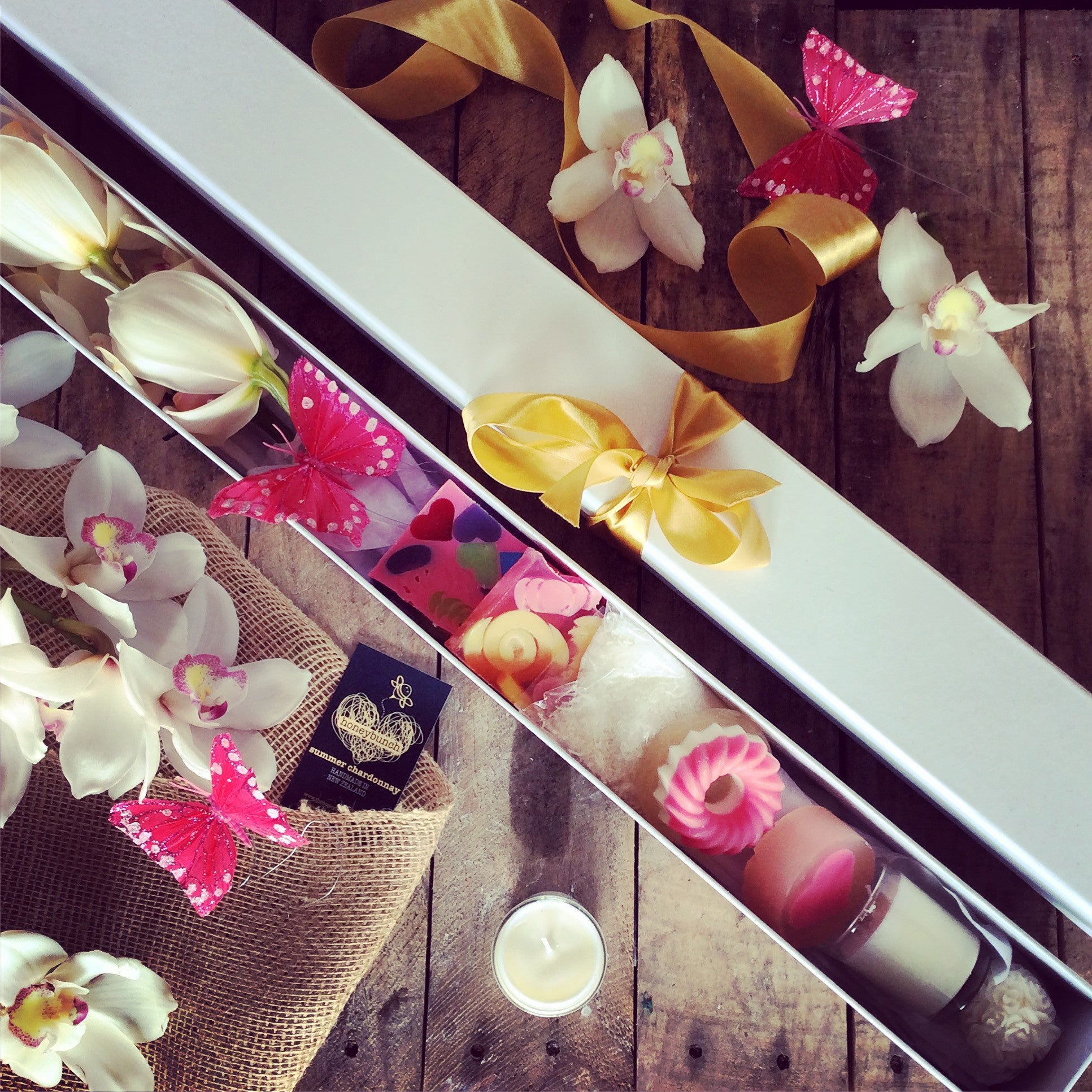 You're orchid Flower delight pamper treat