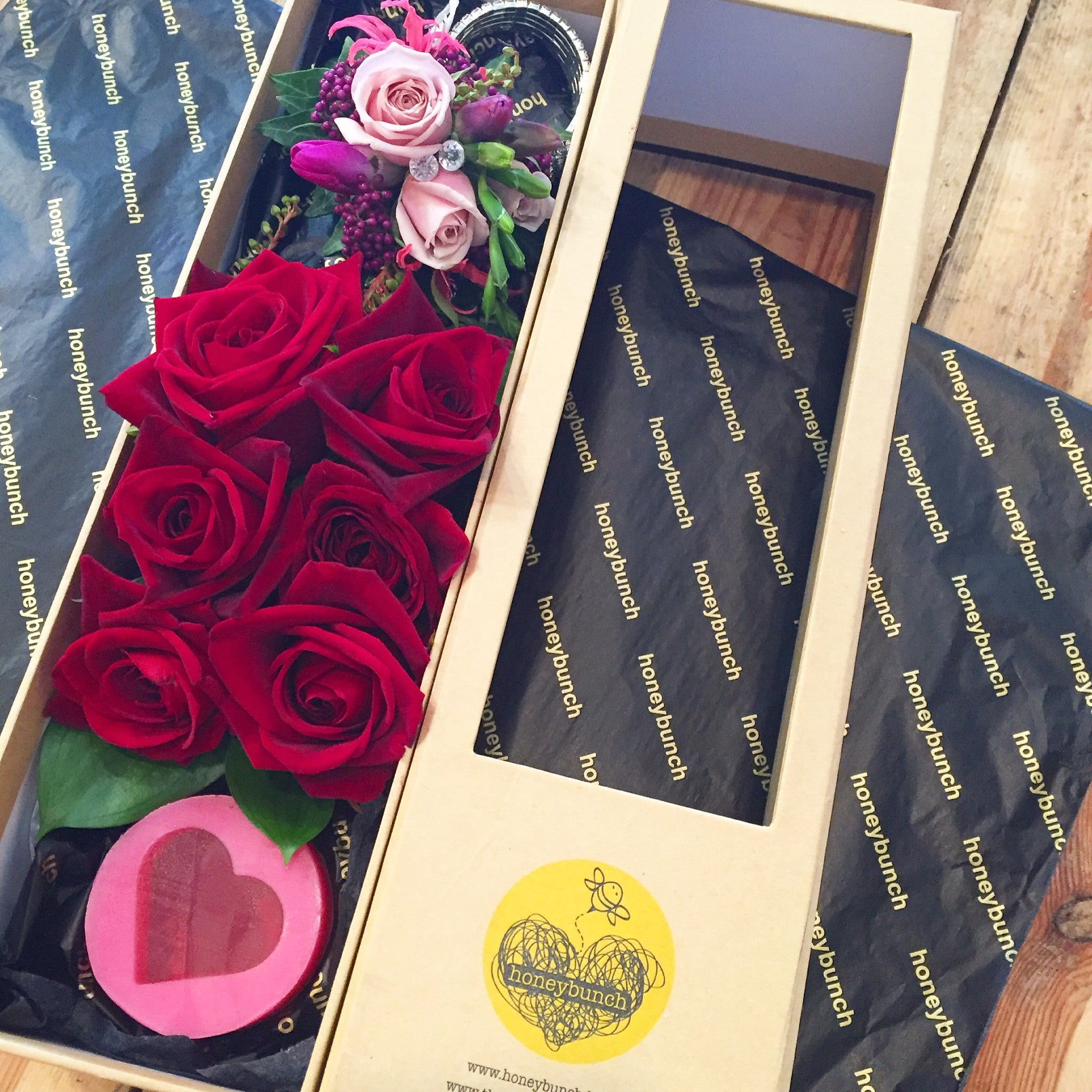 Corsage and rose pamper pack