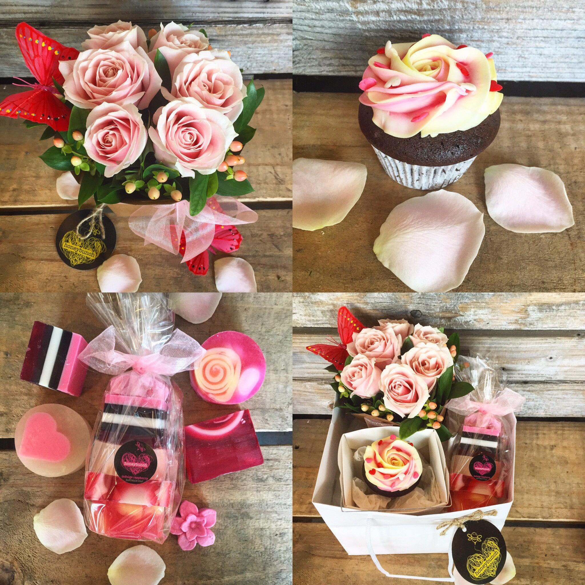 ultimate sweet treat flower pamper hamper
