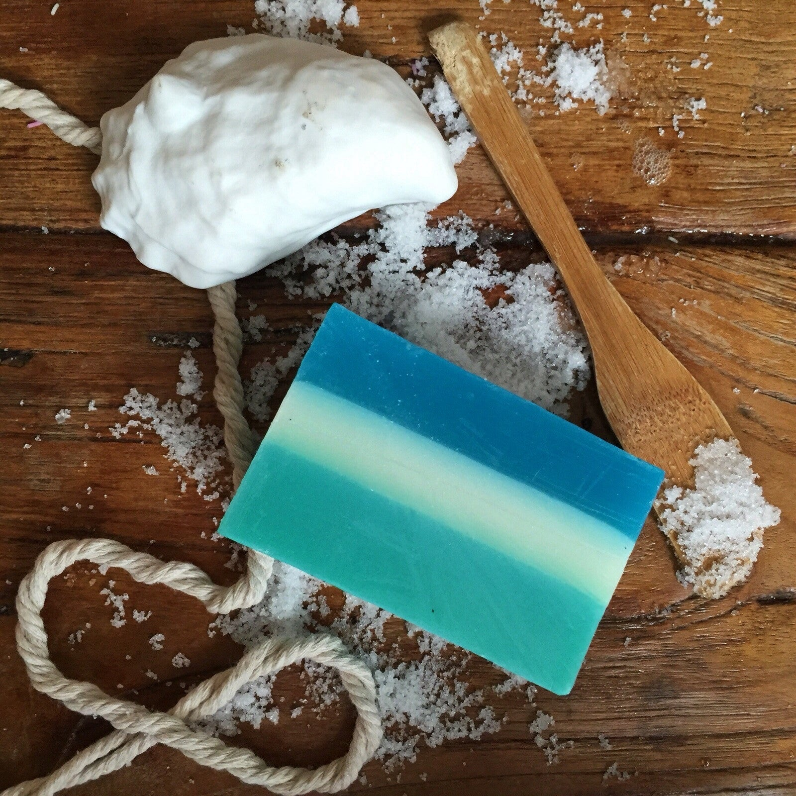 Refresh Ocean boyfriend, goats milk, manuka honey soap .....
