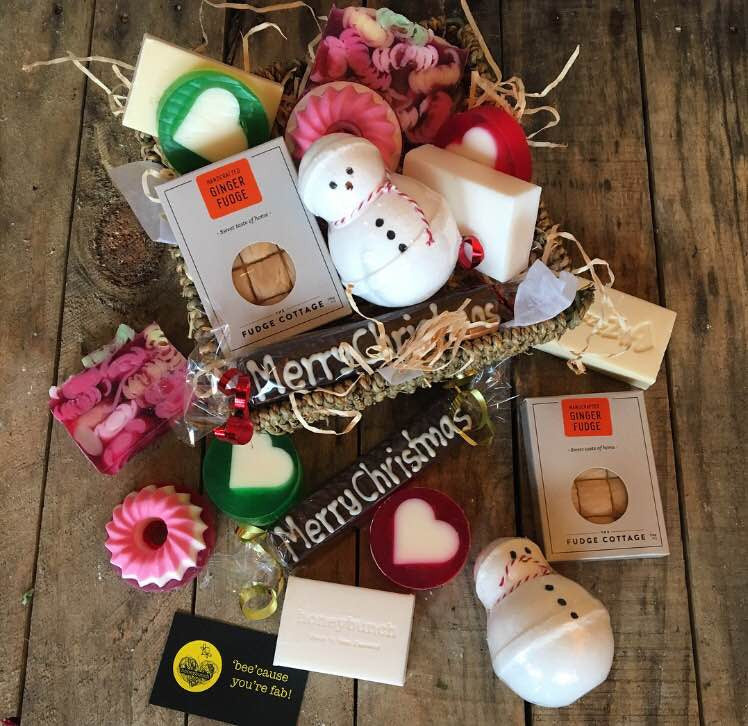 Christmas Soapy snowman treat