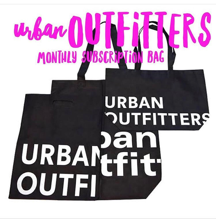 Urban outfitters monthly bag