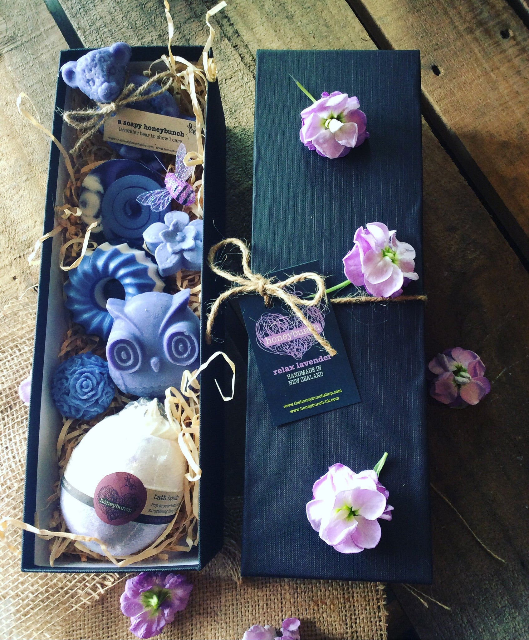 Lavender night owl pamper hamper