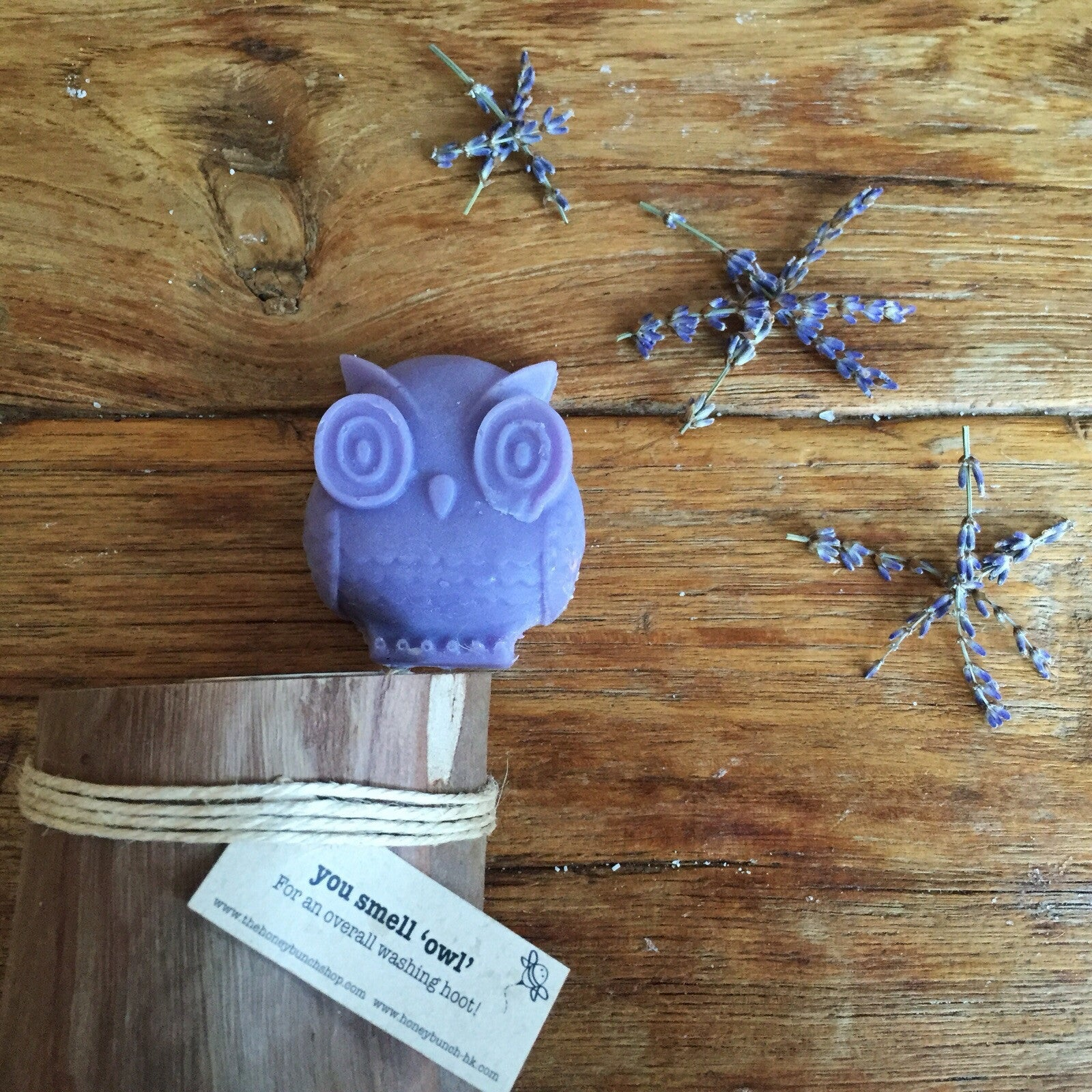 relax lavender 'you smell owl' soap ...