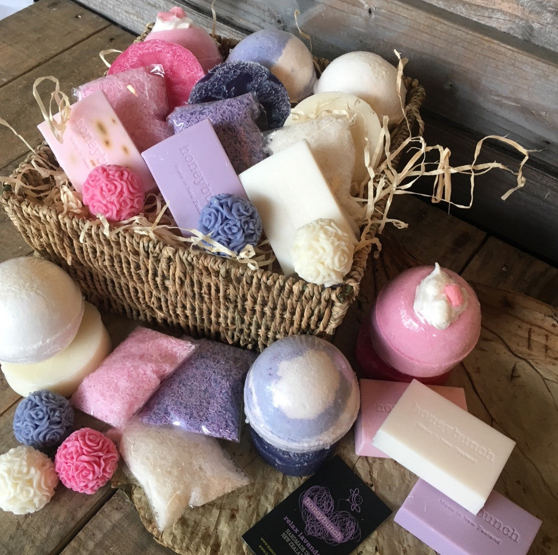 relaxation trio soapy pamper hamper buzz