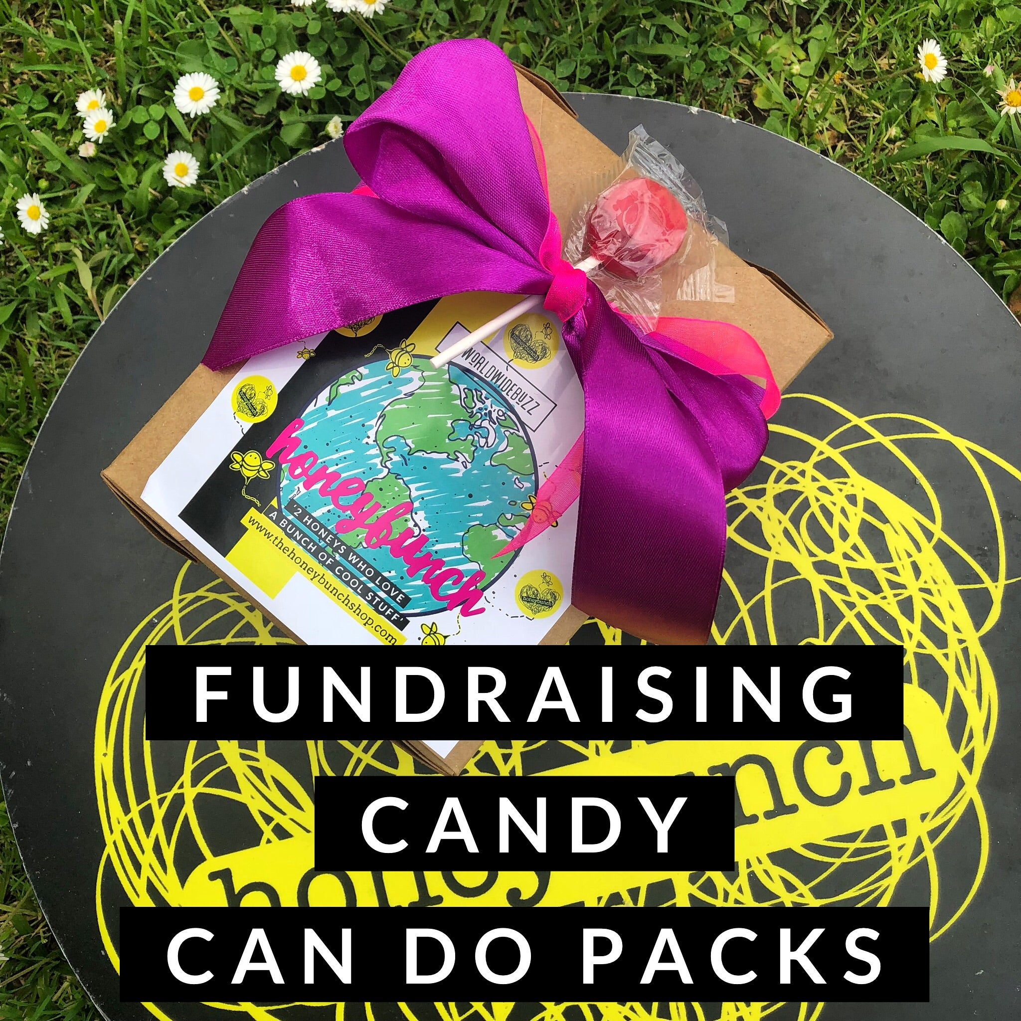 Candy can do fundraising packs