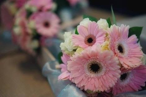 Wedding package - crazy Daisy gerbera romance