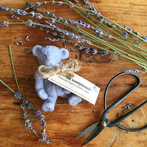 Relax lavender soapy teddy bear ..