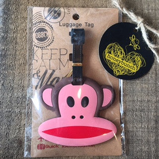 Cheeky Monkey Luggage Tag