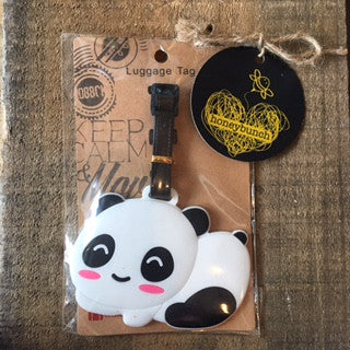 Baby Panda Luggage Tag