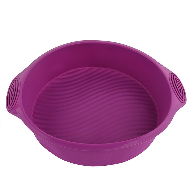 Round Shape 3D Silicone Soap Mold