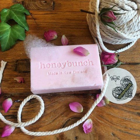 Rose oil and manuka honey vegetable Soap ...