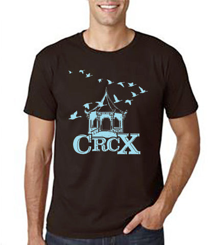 MEN'S BROWN CRCX T-SHIRT