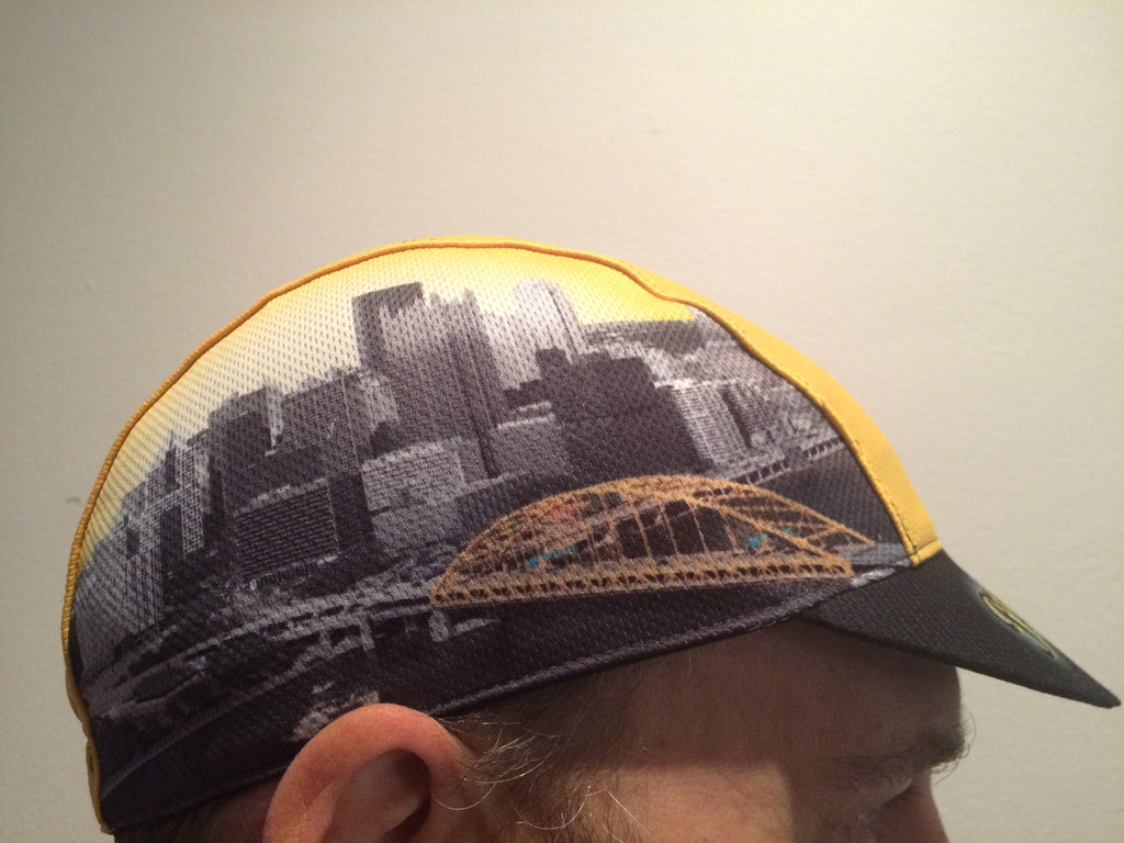 SUNNY PITTSBURGH CYCLING CAP