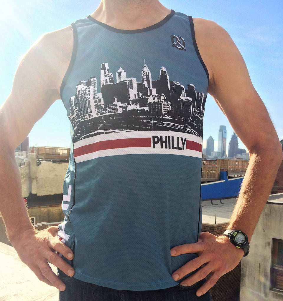 Men's Philly Running Singlet
