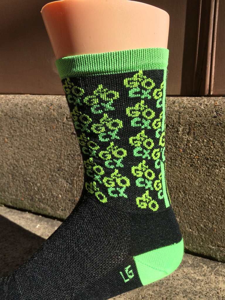 "GO CX NEON 5"" WOOL SOCKS"