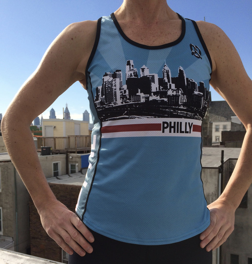 Women's Philly Running Singlet