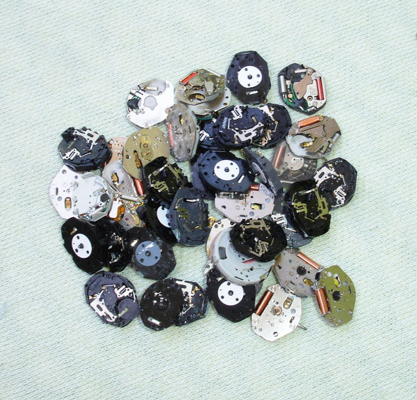 1.8 ounce Quartz Digital Watch Movements For Steampunk Alterd Art Mixed Media