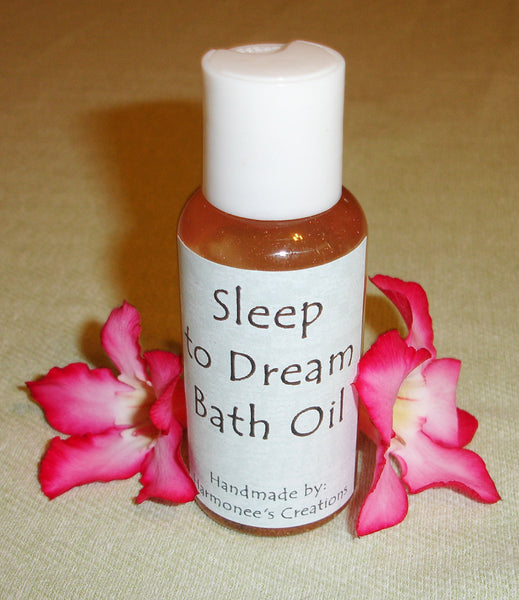 Sleep to Dream Bath Oil with Quartz stone - 3 oz bottle