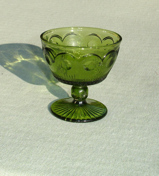 Old Depression Glass Goblet