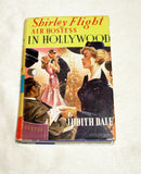 RARE Shirley Flight Air Hostess in Hollywood By Judith Dale - Vintage Book 1961
