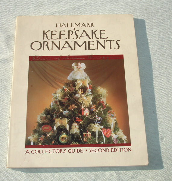 1985 Hallmark Keepsake Ornaments Book - A Collector's Guide - Second Edition