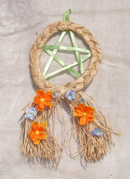 handmade wiccan pagan pentagram pentacle decor